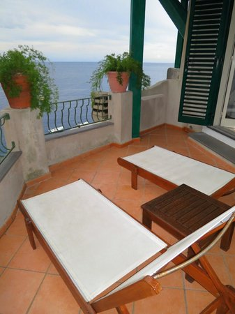Hotel Onda Verde: The room's balcony