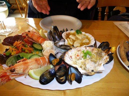 Kishorn Seafood Bar: Seafood Platter