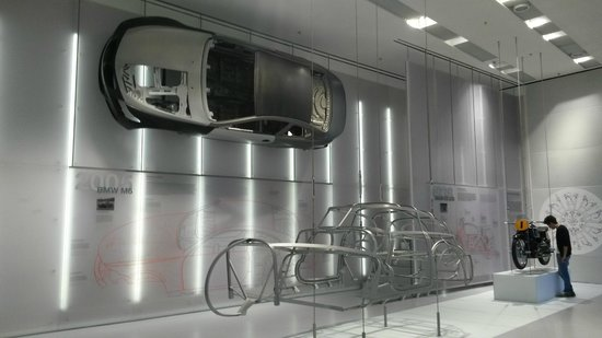 BMW Museum: Stanza del Museo BMW