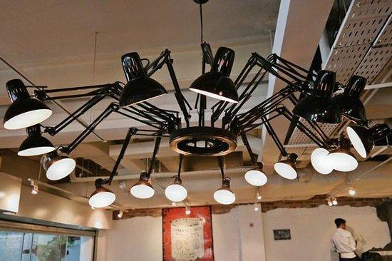 Wanderlust: The light in the Cocette Restaurant