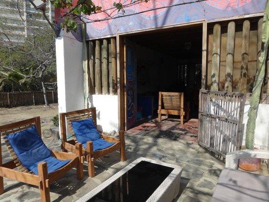 Playa del Ritmo, Beach Hostel & Bar: Entrada hostel