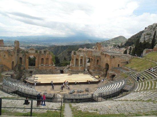 Ancient Theatre of Taormina : Anfiteatro