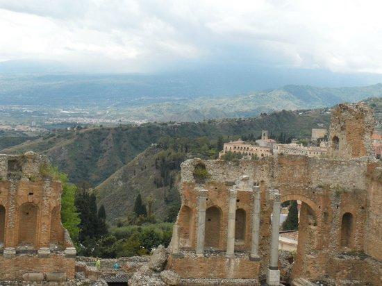Greek Theatre : Vista do anfiteatro
