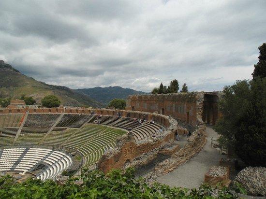 Greek Theatre : Interno do anfiteatro