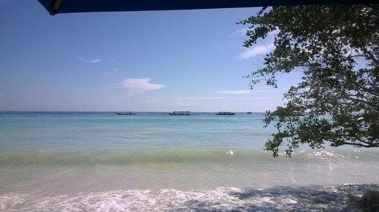 Villa Grasia Resort & Spa : Il mare