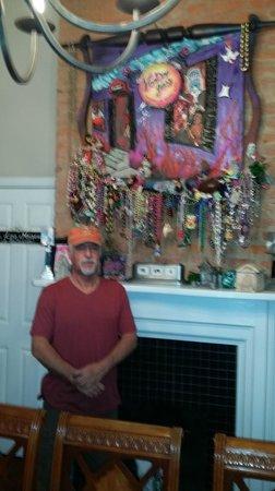 Rathbone Mansions: Pat's shrine and artwork