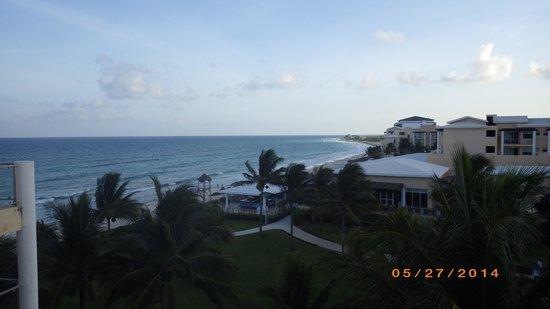 Now Jade Riviera Cancun: Top floor view