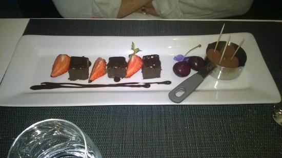 Le Particulier : truffes et fondant chocolat noir