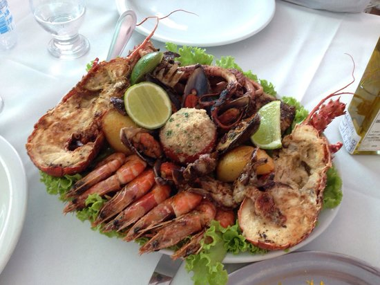 Restaurante Yemanja : Seafood Grilled - Grelhados de Frutos do Mar