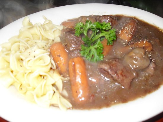 Le Patio: Beef Bourguiginon