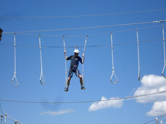 Utah Olympic Park : The High Ropes Course