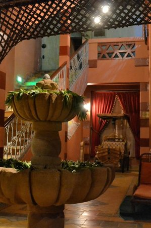 Hotel Le Fint : innerhalb der Hotelanlage