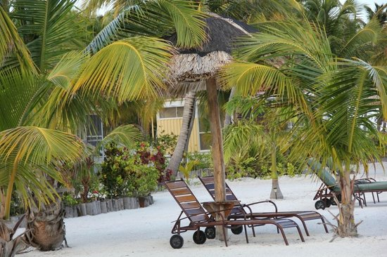 Turneffe Island Resort: Places to relax abound
