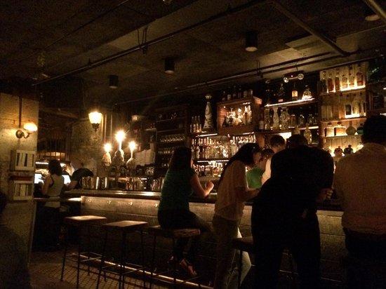 La Esquina: Main bar downstairs