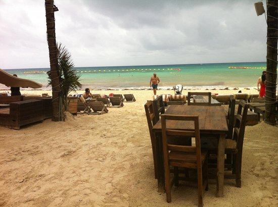 Zenzi Beach Bar & Restaurant: Vista dal ristorante