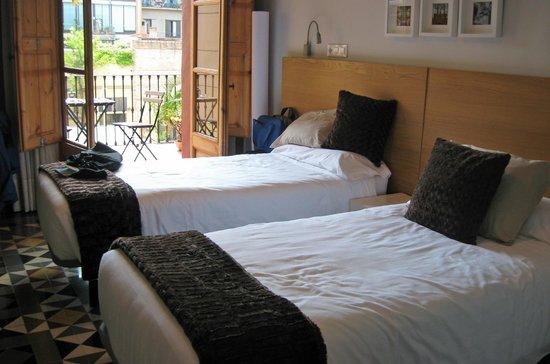 Quadrat d'Or Chic Rooms: Domenech I Montaner room
