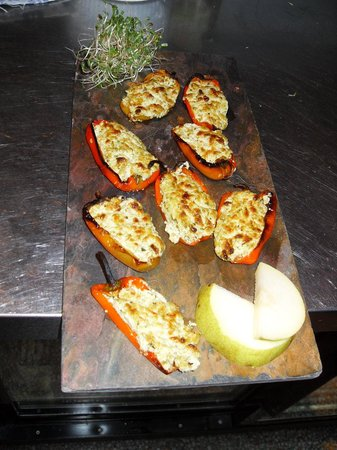 Le Patio: Stuffed Roasted Peppers