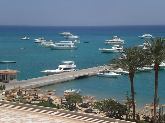 Hurghada Marriott Beach Resort : view from room