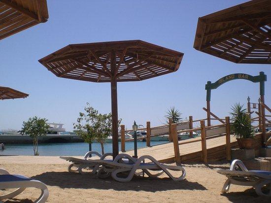 Hurghada Marriott Beach Resort : Beach view