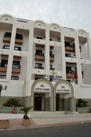 Hotel Oasis : Hoteleingang
