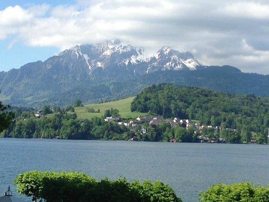 Seehotel Hermitage Luzern: View-room