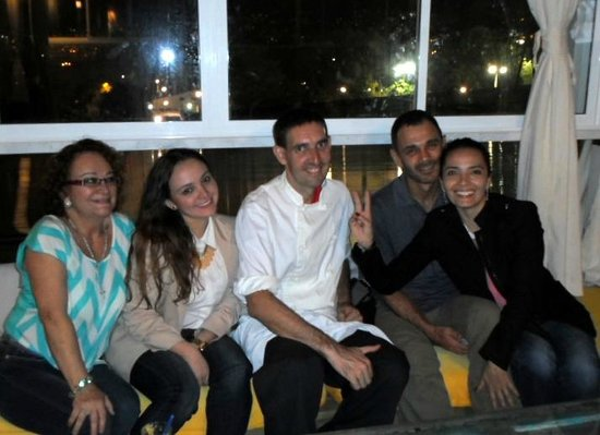 International House Medellin: With guests on the rooftop for an event