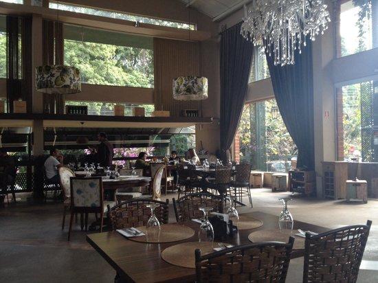 Montenegro Cafe e Bistro: Ambiente agradável para almoçar