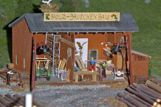 Miniatur Wunderland: Holzwerkstatt