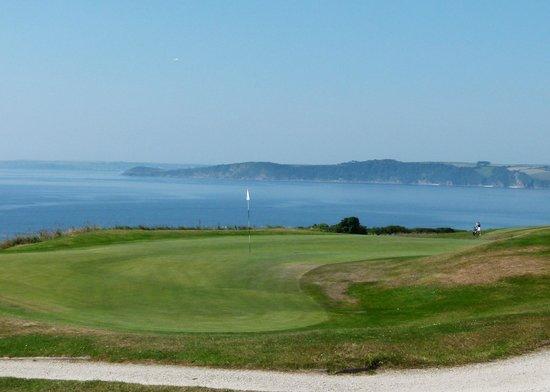 The Carlyon Bay: 9th green, Carlyon Bay