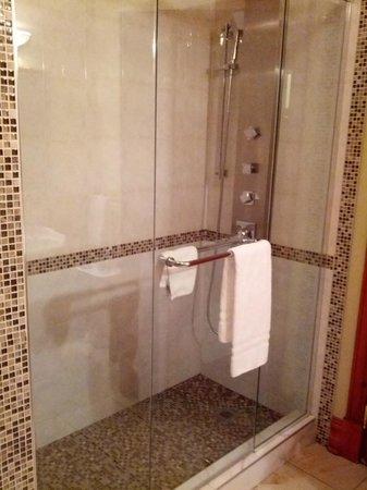 Auberge du Vieux-Port: Shower to die for