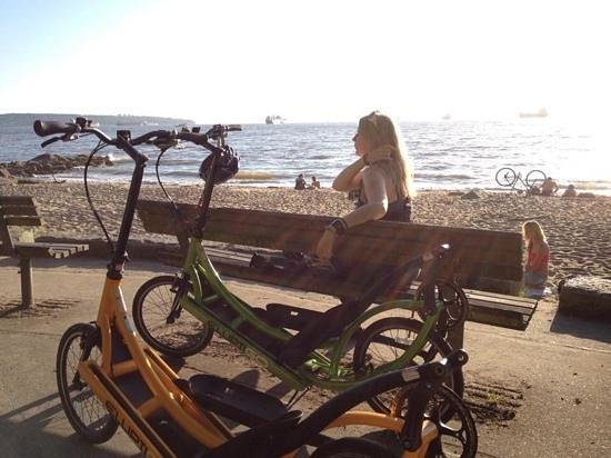 Spokes Bicycle Rentals: Chillin' with the Elliptigo's