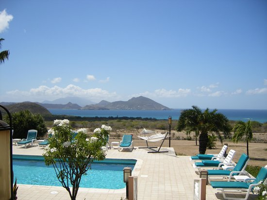 Bella Vista Restaurant @ The Mount Nevis Hotel: View from our table