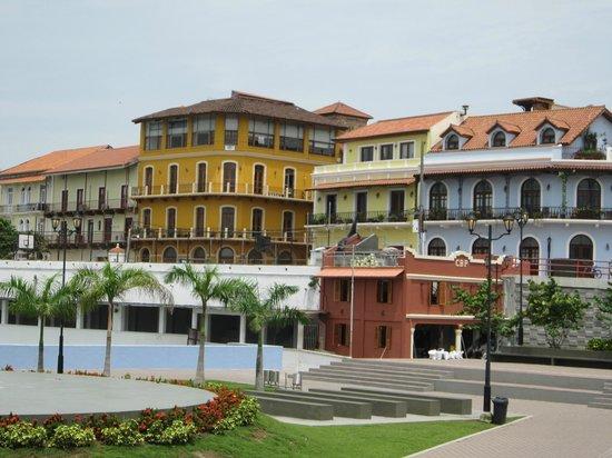 Casco Viejo: Hermosa vista del sector