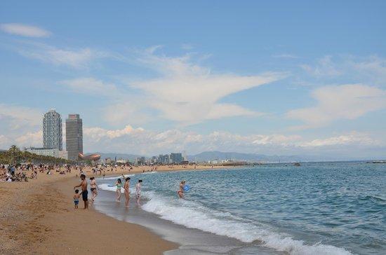 Hotel Ciutadella Barcelona: Plaża Barcelonetta