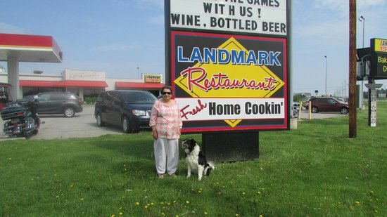 Landmark Restaurant, Williamsburg, Iowa