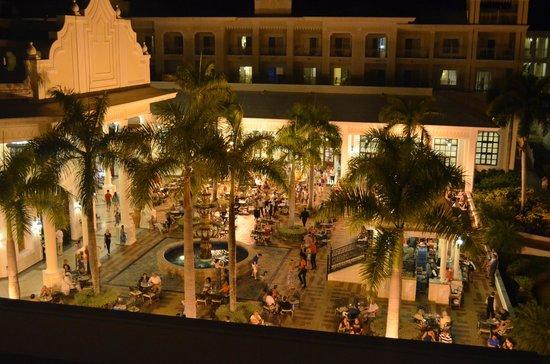 Hotel Riu Palace Punta Cana: vista desde el balcón de habitación