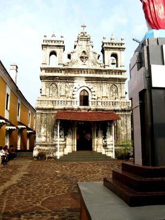 Fort Terekhol: church