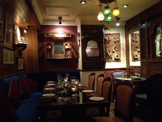 Chor Bizarre - India's Restaurant: Dining room