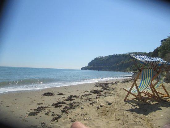 Luccombe Villa Holiday Apartments: Shanklin Beach
