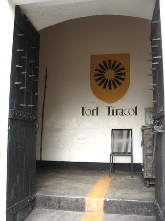 Fort Terekhol: main door
