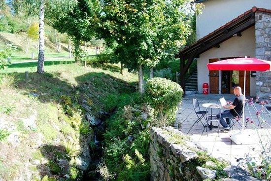 L'accueil du camping La Fressange