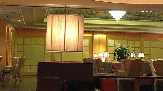 Starhotels Metropole: Hotel Lobby.
