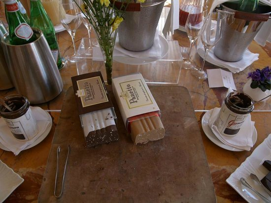 La Posta Vecchia Hotel: Sweet parts of the breakfast