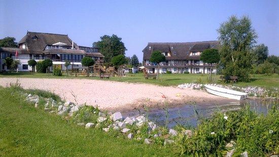 Haffhus Hotel & Ferienanlage: Kleiner Strand