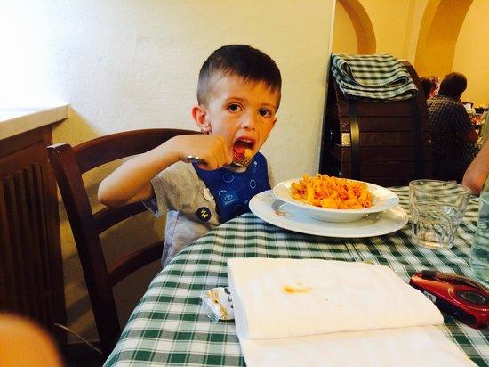 Trattoria Dal Pansa : Piattino di pasta ....