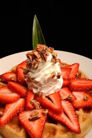 Fredys Tucan: waffle fresa