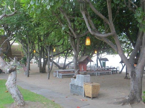 Taman Sari Bali Resort & Spa: Hotelanlage