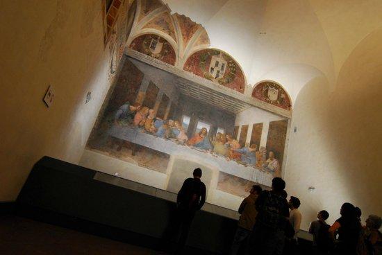 La Cène (Léonard de Vinci) : Amazing