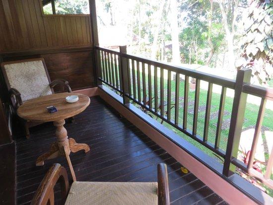 Ijen Resort & Villas : Terrasse