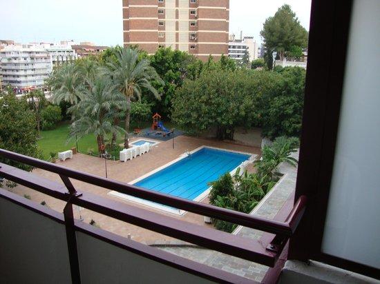 HOTEL BENILUX PARK: balcony view